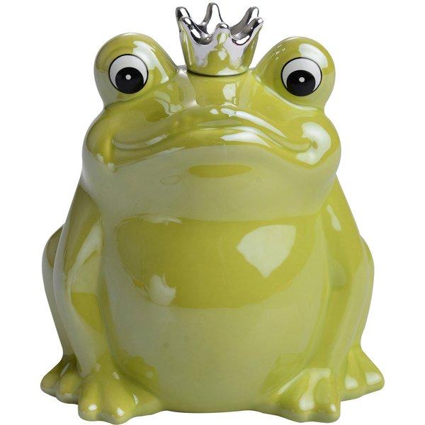 "Spardose ""Froschkönig"""